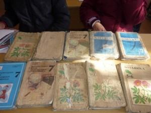 Nicht nur waren die Bücher alt und zerfleddert- es hatte auch nicht genügend Exemplare
